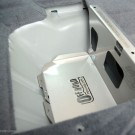 12-Stainless Steel dual battery tray PX Ranger-960