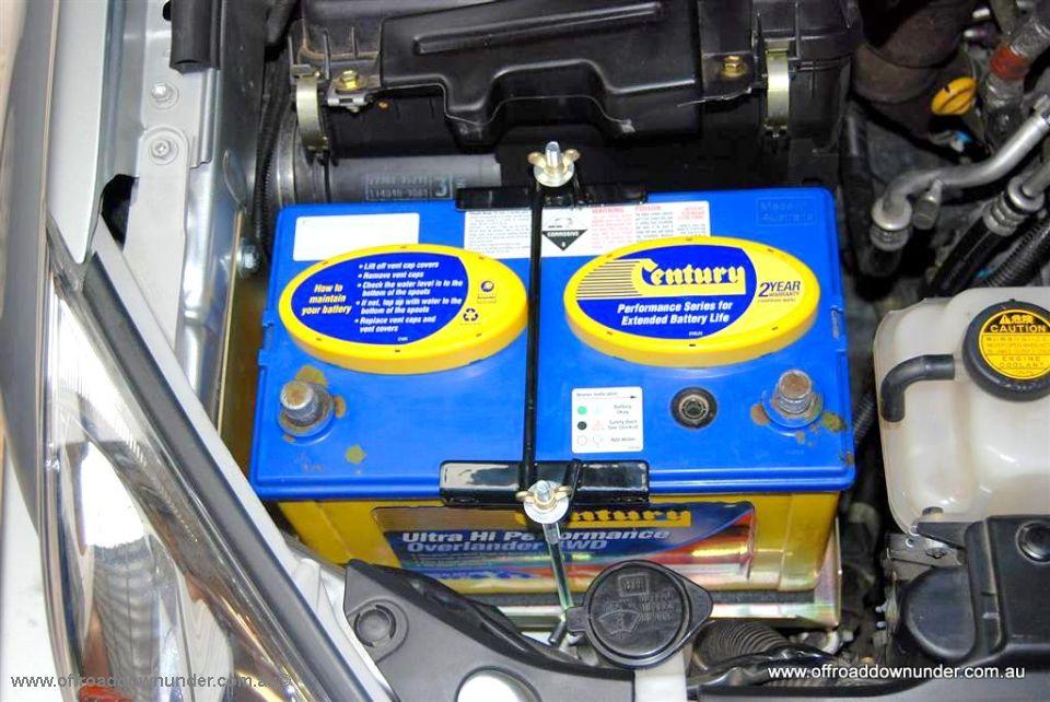 dual battery tray toyota prado 120 series turbo diesel off road downunder. Black Bedroom Furniture Sets. Home Design Ideas