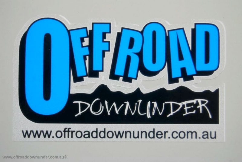 Off Road Downunder sticker