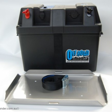 Dual Battery Tray/Power Box : Current Model Ford PX Ranger & Mazda BT50
