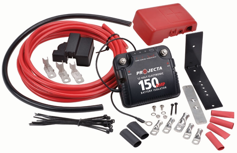 Dbc150k 12v Electronic Dual Battery System Off Road