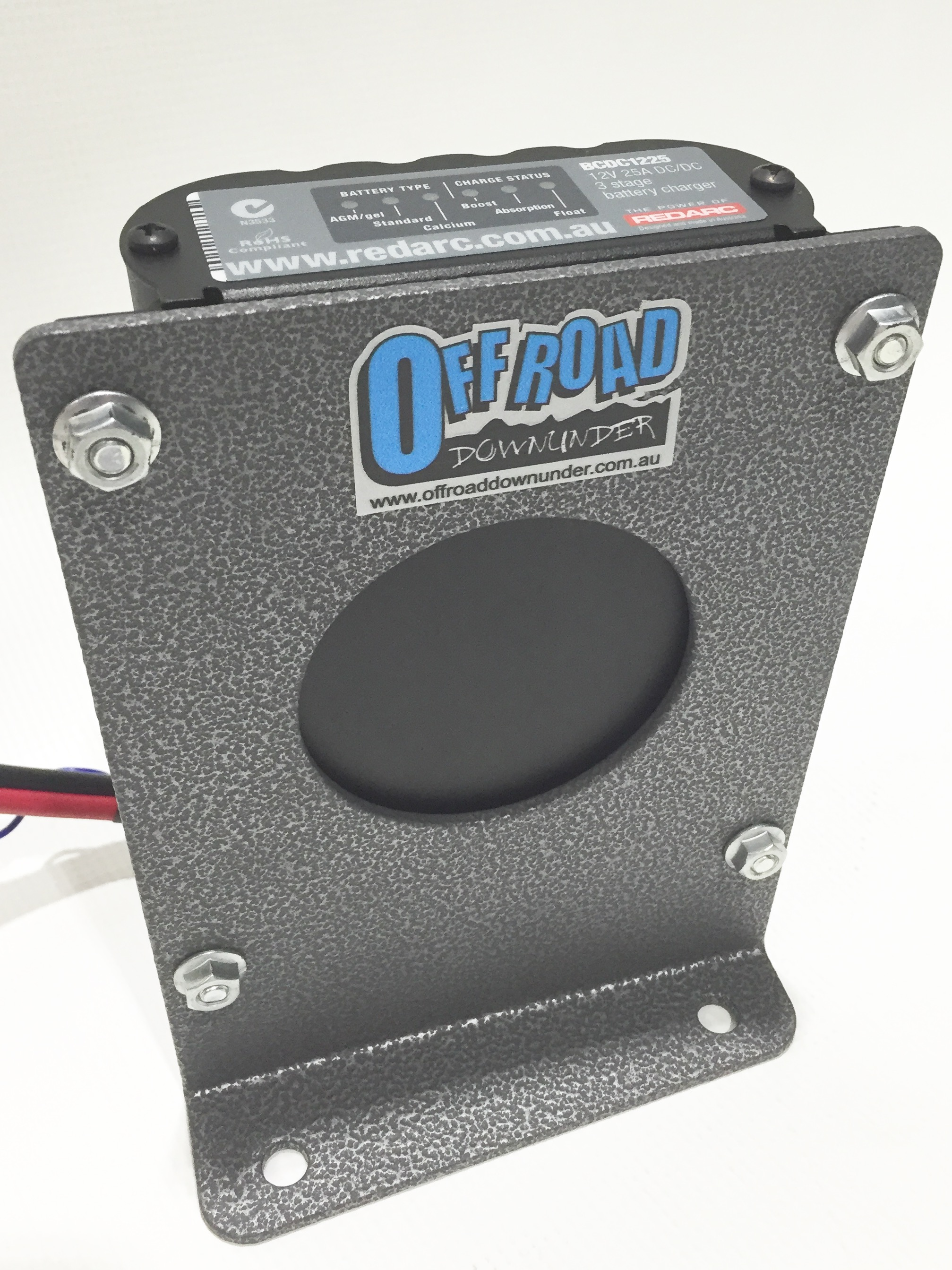 Field Full Size Battery Box : Mounting bracket for redarc bcdc  prado
