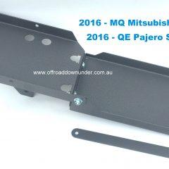 ORD Dual Battery Tray MQ & QE Mitsubishi
