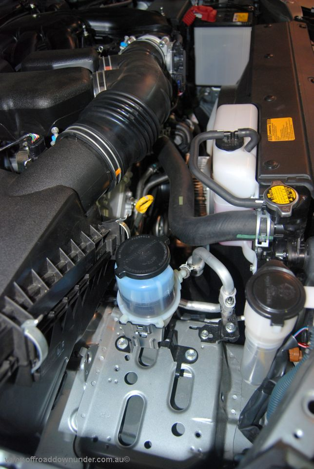 Dual Battery Tray Includes Power Steering Reservoir