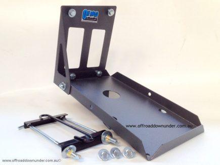 Dual Battery Tray - Toyota Prado 120 Series 2003-2009 - 3.0lt Turbo Diesel