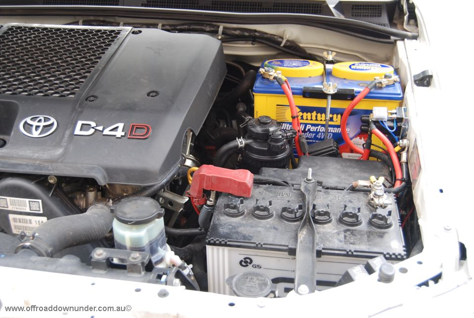 Dual Battery Tray - Toyota Hilux 2005-2015 3 0lt Turbo Diesel Engine (D4D)