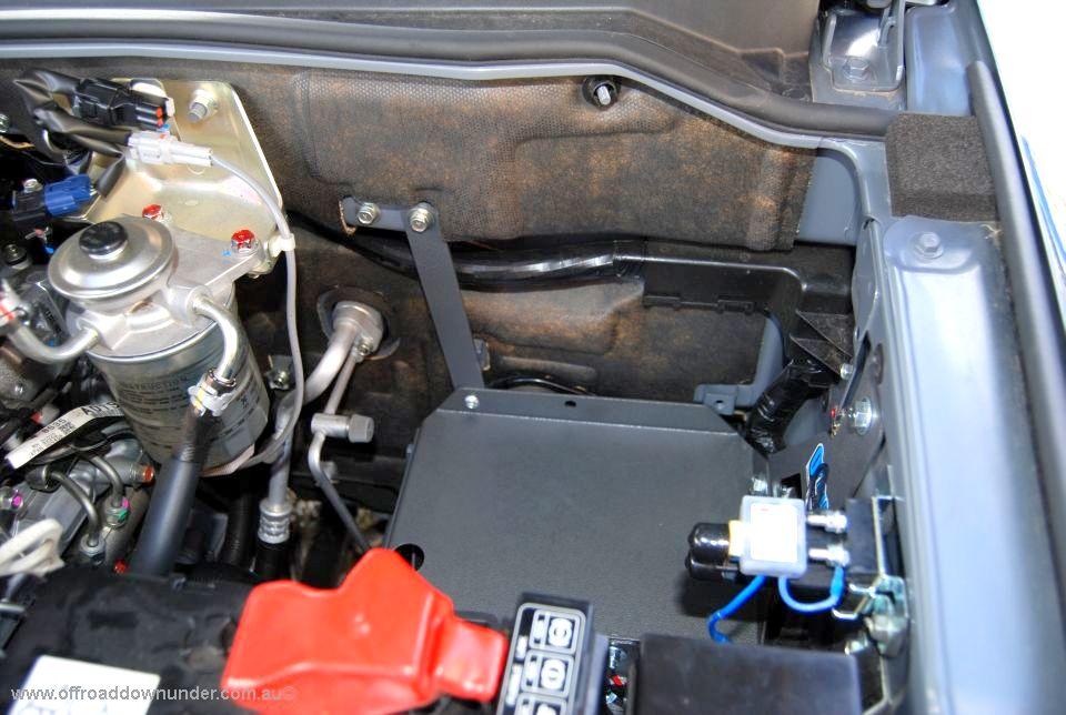 Dual Battery Tray - Mitsubishi Pajero NM to NT , NW, NX - Off Road Downunder