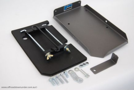 Dual Battery Tray: Toyota Hilux 2005-2013 3.0lt Turbo Diesel Engine (D4D)