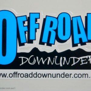 Off Road Downunder sticker