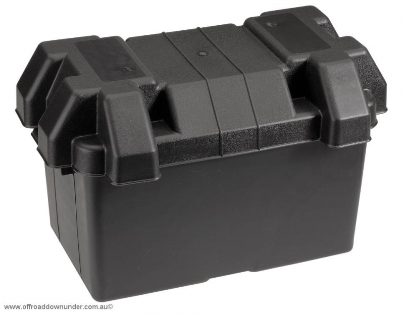 Large Plastic Battery Box