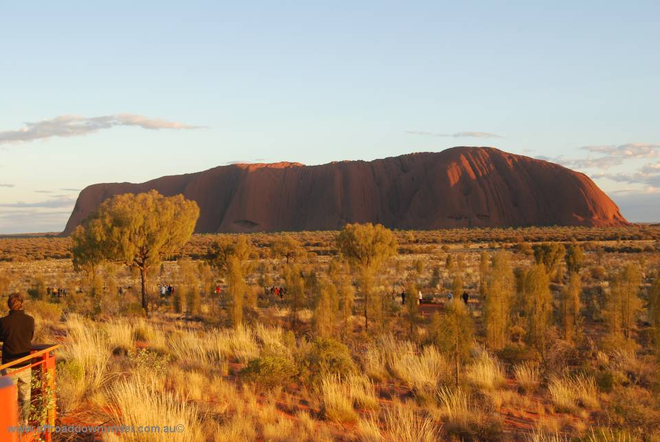 Sunrise at Ayers Rock 0070-960
