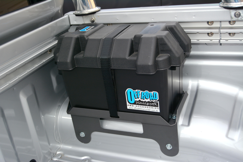 Nissan Navara D40 Dual Battery Tray Box