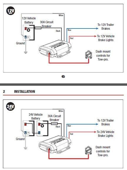 tow-pro elite   electric brake controller