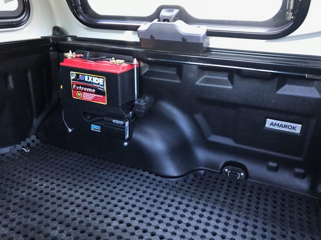 Nissan Navara D40 Dual Battery Tray/Box
