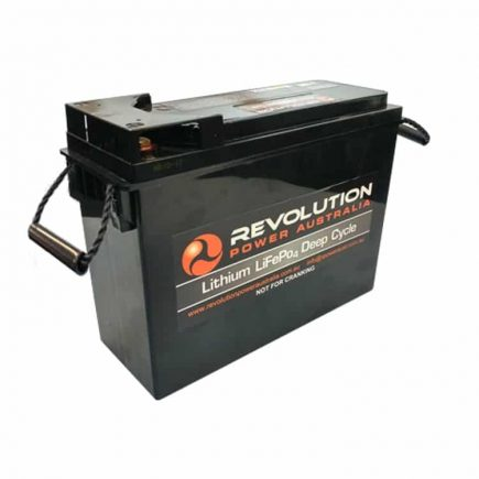 Revolution 60Ah Slimline Lithium Battery
