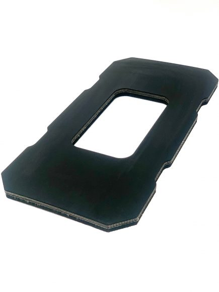 Rubber insert for ORD battery tray